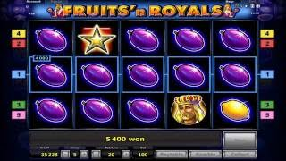 Fruits`n Royals играть